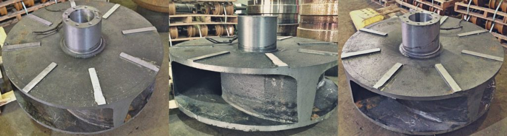 рабочее колесо грунтового насоса